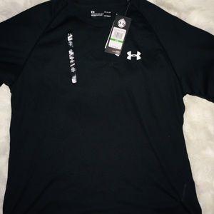 Under Armour Shirts - Under Armour Black men's short sleeve shirt sz LG